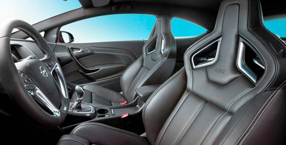Opel Astra OPC: nuevos asientos de altas prestaciones