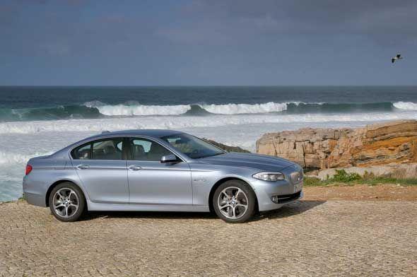 BMW ActiveHybrid 5, la Serie 5 se electrifica