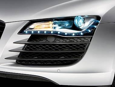 Audi R8: así son sus faros