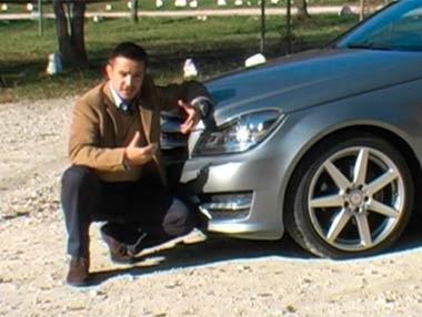 """Mercedes C Coupé 250: transmite """"buen rollo"""""""