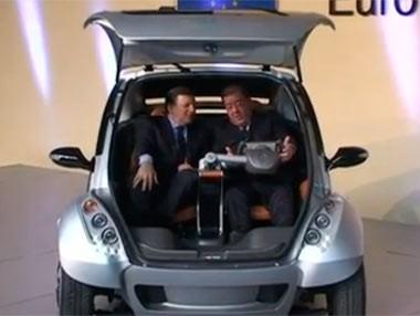 El coche eléctrico Hiriko, un proyecto ejemplar para salir de la crisis