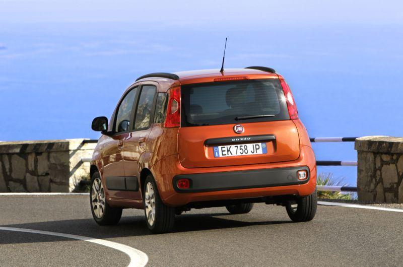 Fiat Panda suspensiones