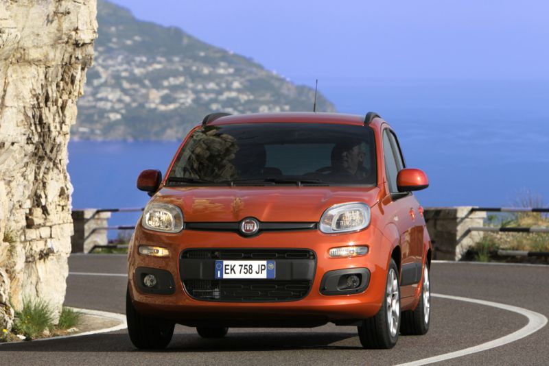 Fiat Panda delantera