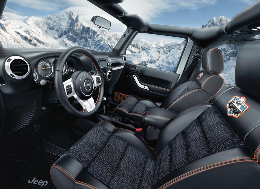 Jeep Wrangler Arctic, un todoterreno pensado para las condiciones más gélidas.
