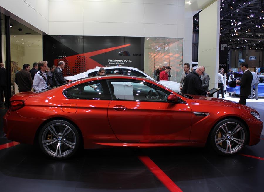 El BMW M6 es una de las estrellas de la firma alemana en el Salón de Ginebra.