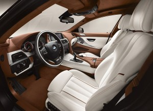 BMW Serie 6 Gran coupe interior