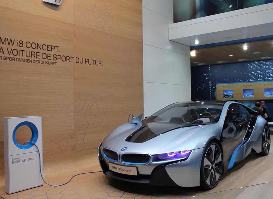 BMW i8, así ve la marca alemana el futuro de los deportivos.