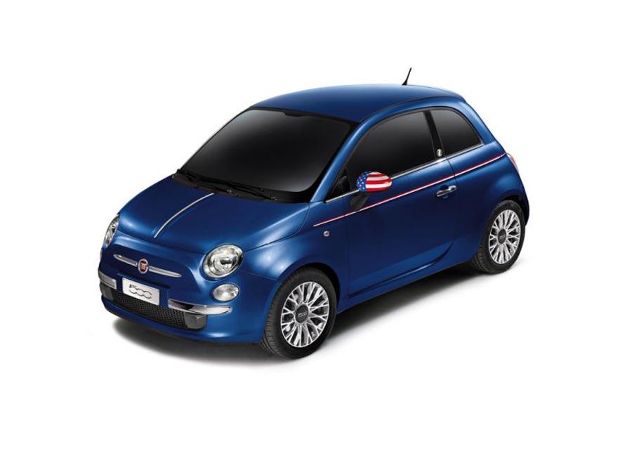 El Fiat 500 America será una edición limitada a 500 unidades.