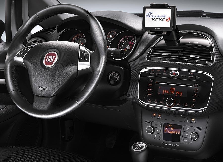 En sus versiones más altas, el Fiat Punto 2012 contará con un equipamiento bastante completo.