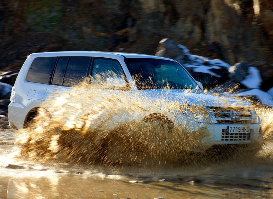 El Mitsubishi Montero continúa siendo una de las opciones ideales para enfrentarse a cualquier dificultad.