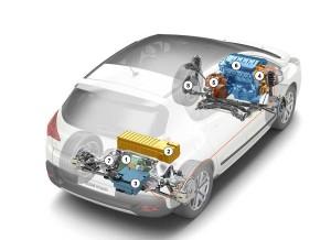 Peugeot 3008 Hybrid4 xray