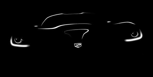 SRT Viper 2013: primera imagen