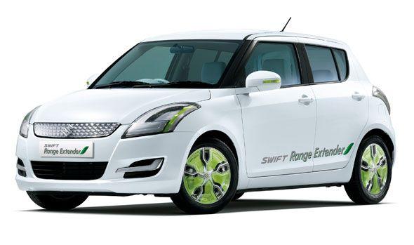 Suzuki G70 y Swift Range Extender en el Salón del Automóvil de Ginebra