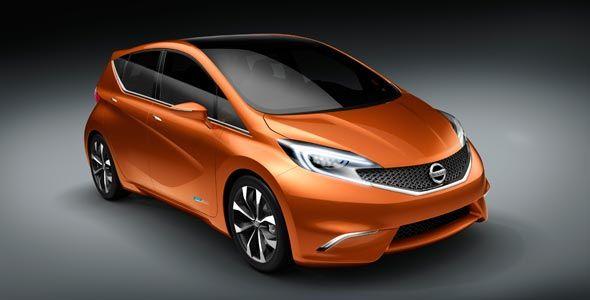 Nissan Invitation, en el Salón del Automóvil de Ginebra