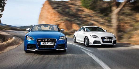 Audi TT RS Plus, impresionantes Roadster y Coupé