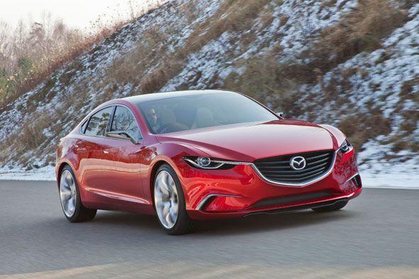 Mazda Takeri, ¿futuro Mazda6?