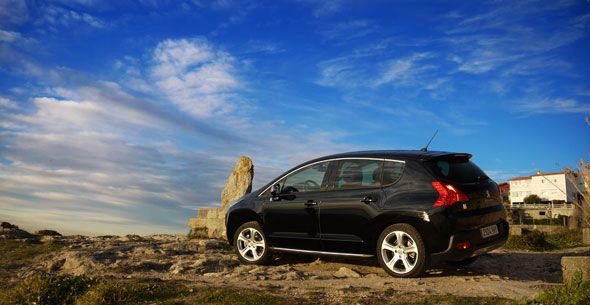 Peugeot 3008 Hybrid4, probamos su tracción diésel-eléctrica