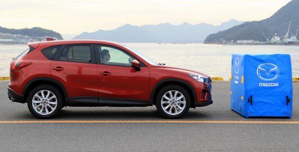 Mazda: nuevo sistema de asistencia a la frenada