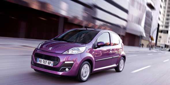Peugeot 107, juventud y desparpajo