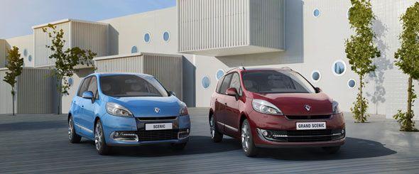 Renault Scénic y Grand Scénic, renovados