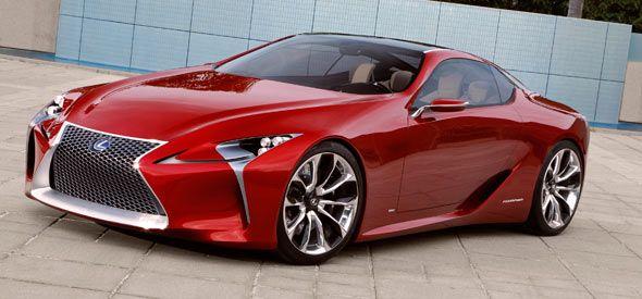 Lexus desvela el LF-LC Concept