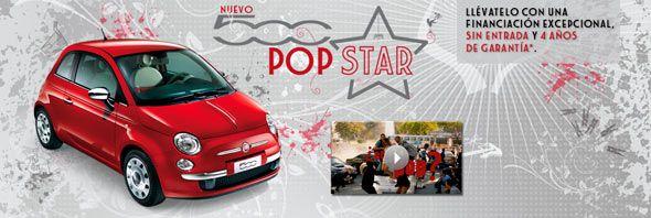 Llega el Fiat 500 Pop Star