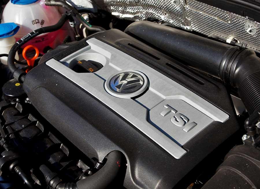 El Beetle Turbo cuenta con el motor TSI de 2 litros y 200 CV. Foto: Jordi Villanueva