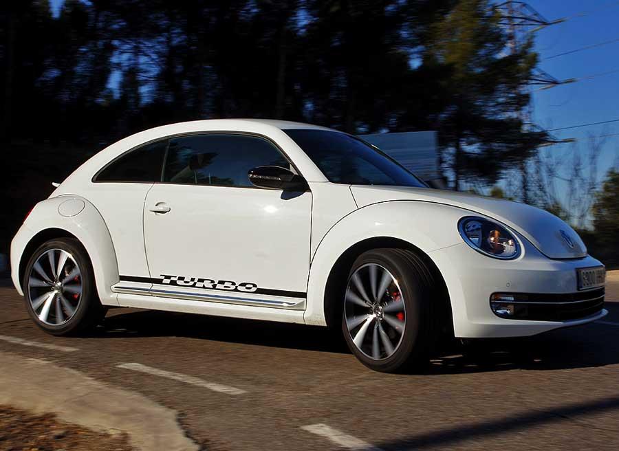 El comportamiento del chasis del Beetle Turbo es totalmente neutro. Fácil de conducir. Foto: Jordi Villanueva
