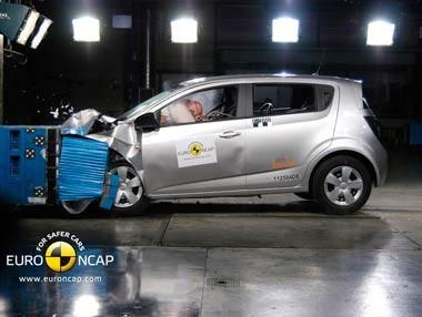 Chevrolet Aveo EuroNCAP Crash Test