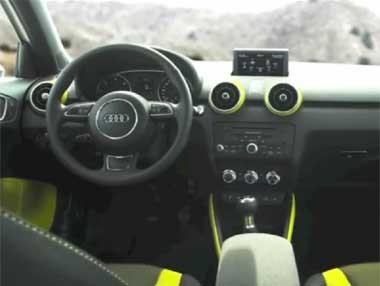 Vídeo: así es el interior del Audi A1 Sportback
