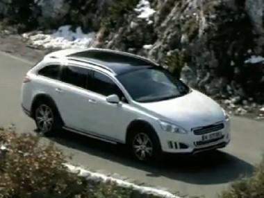 Nuevo Peugeot 508 RXH, en vídeo