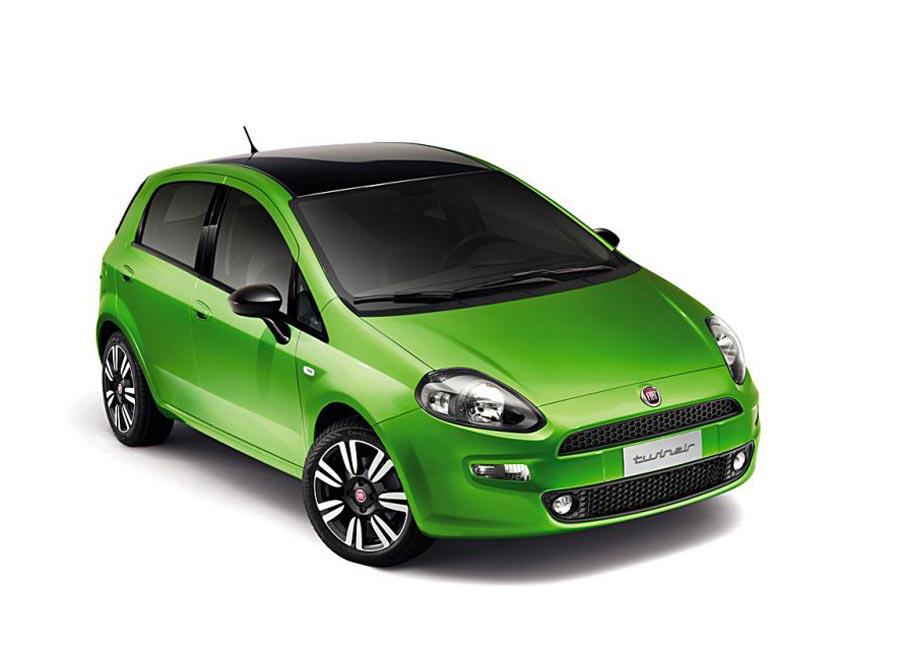 Fiat incorpora un nuevo color verde que contrasta con el techo en negro brillante.