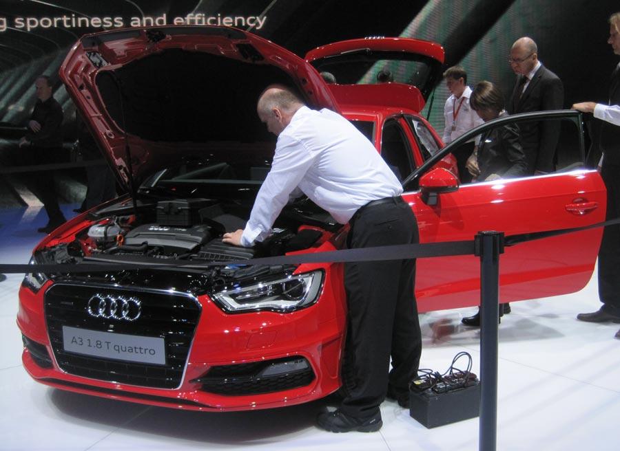 El nuevo Audi A3 es uno de los modelos más llamativos del Salón de Ginebra.