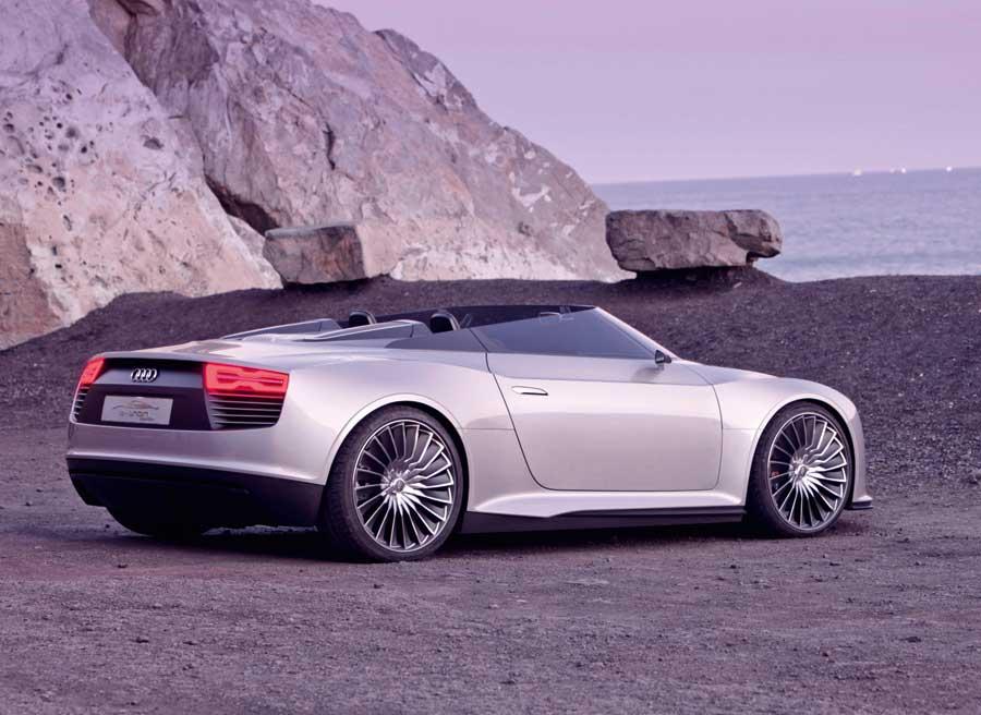 Audi R8 Spyder E-tron