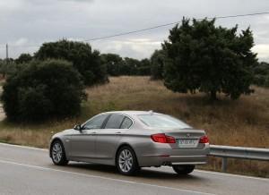 BMW Serie 5 520d, dinámica