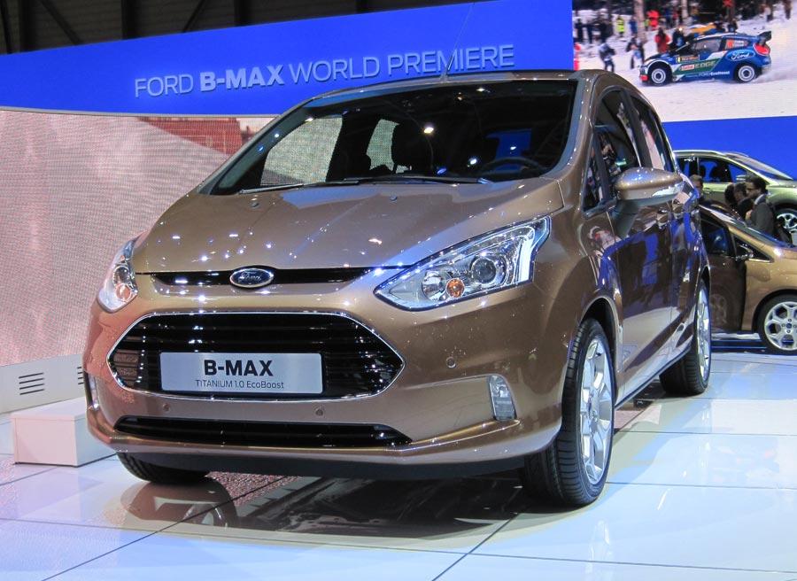 El Ford B-Max es una de las novedades más esperadas dentro del stand de Ford.