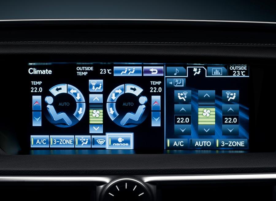 Estar en el interior del Lexus GS 450h será como estar en un Spa.