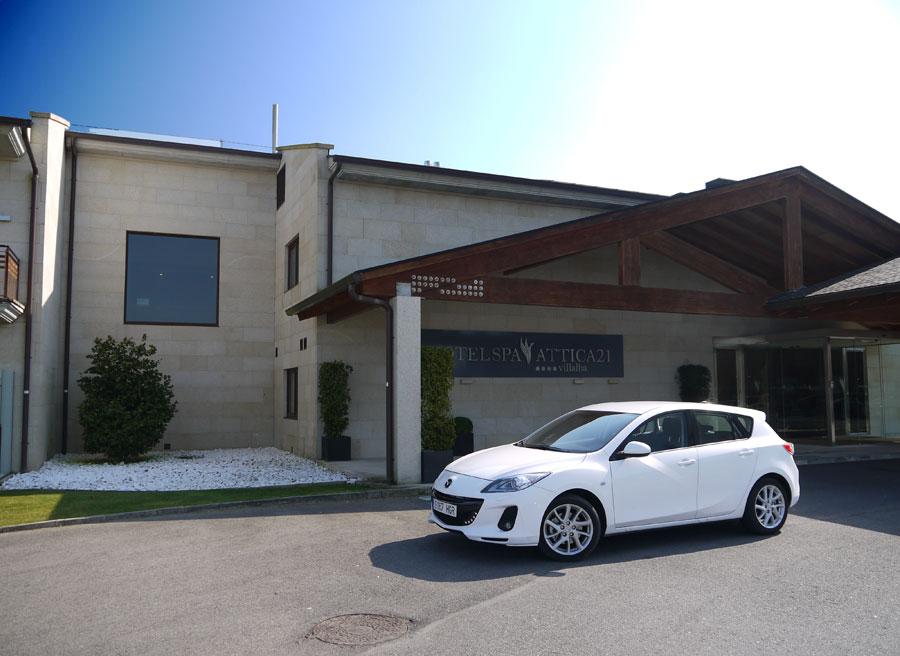 Mazda 3 2.0 DISI Vilalba, Rubén Fidalgo