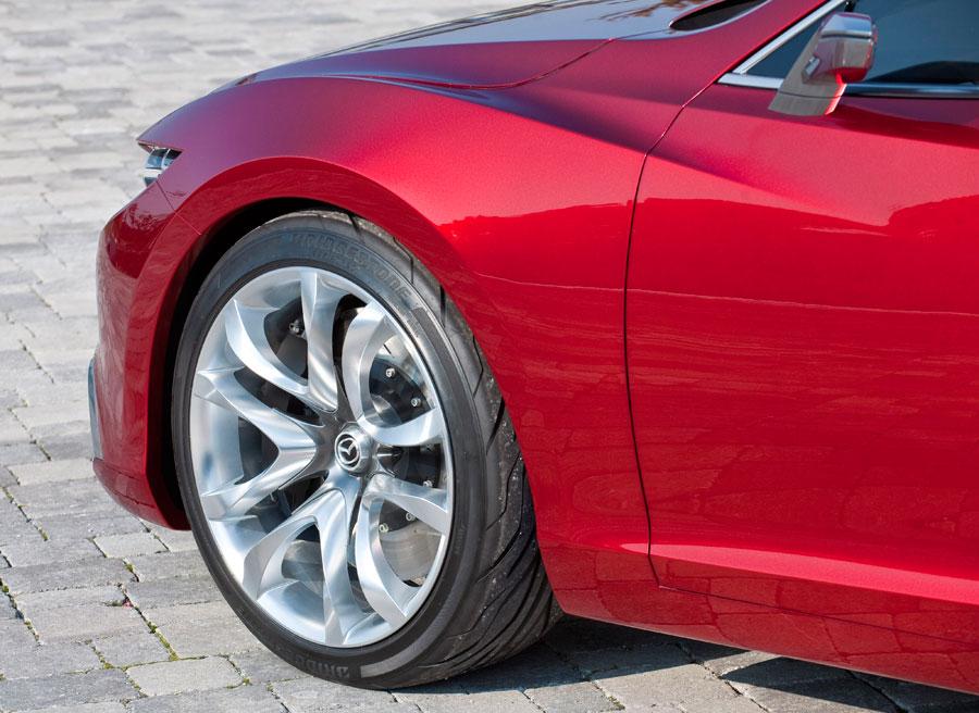 Elementos como las llantas variarán en el Mazda 6 respecto al Takeri.