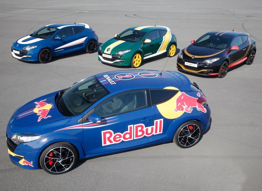 Red Bull, Lotus, Williams y Caterham son los cuatro equipos con motor Renault en la Fórmula 1.
