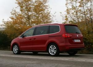 Seat Alhambra 2.0 TDI Ecomotive Style, dinámica
