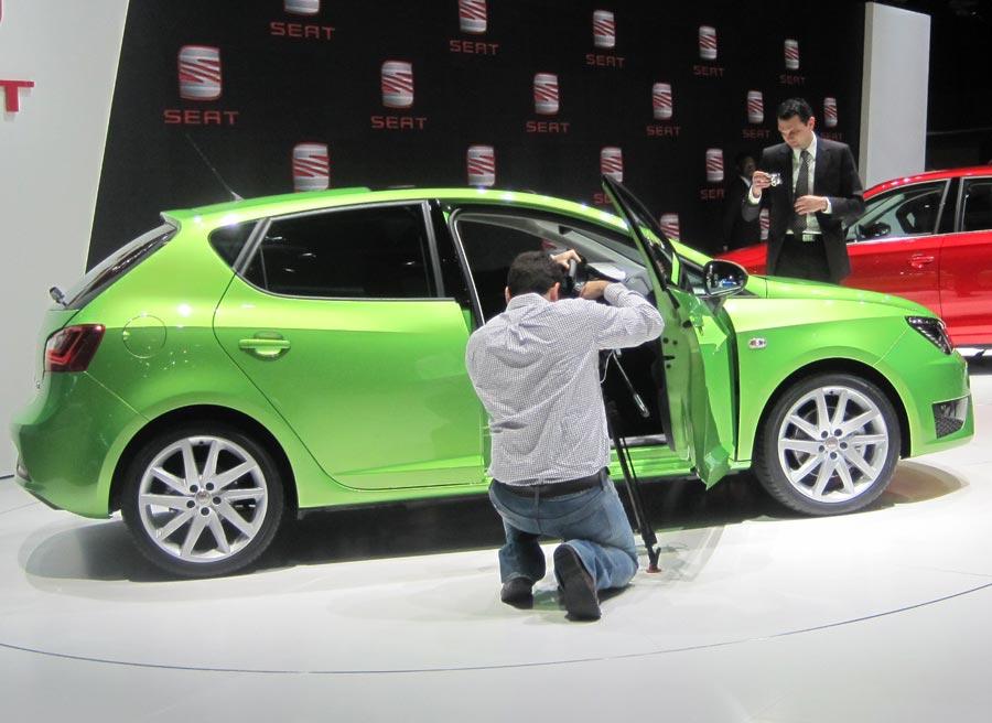 Las opciones mecánicas del Seat Ibiza no varían con este restyling presentado en Ginebra.