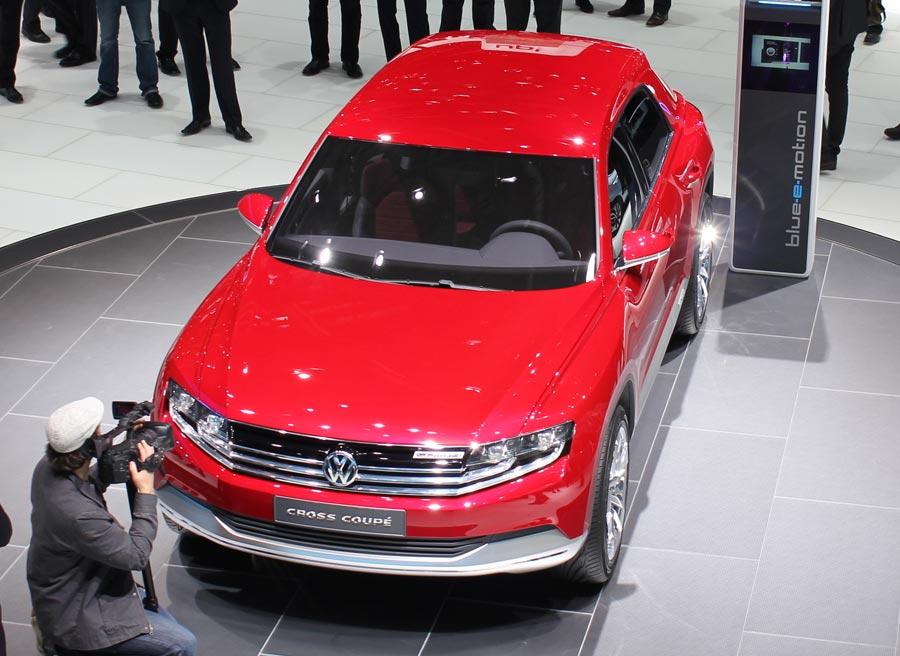 El consumo medio del Volkswagen Cross Coupe es de 1,8 litros cada 100 kilómetros.