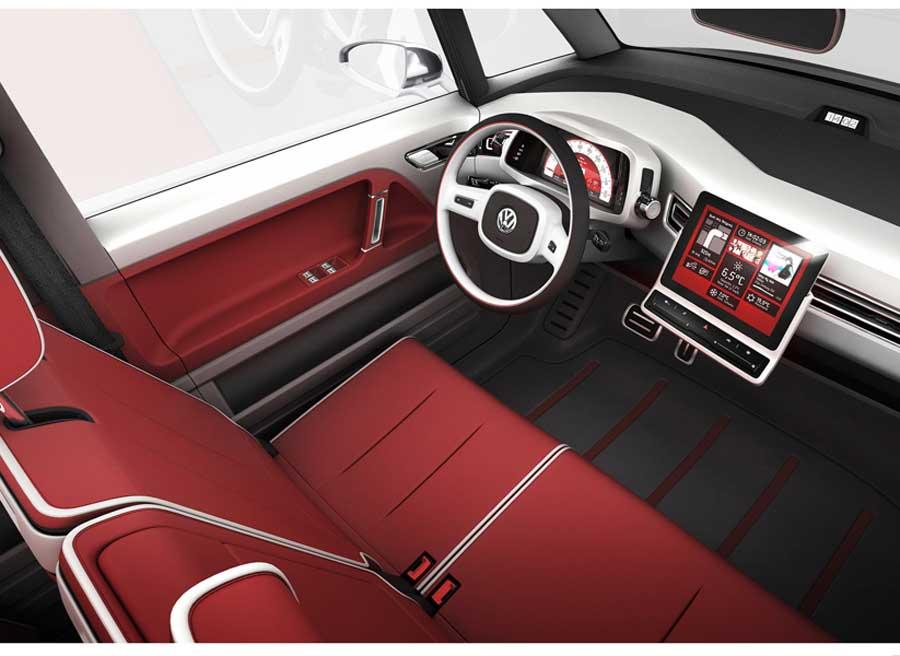 Volkswagen Bulli Controles tactiles