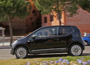 Volkswagen up! black up!, dinámica