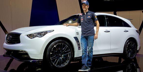 Infiniti FX Sebastian Vettel: el más caro de la gama