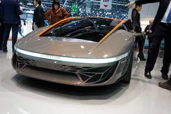 El Bertone Nuccio se hará realidad en Pekín