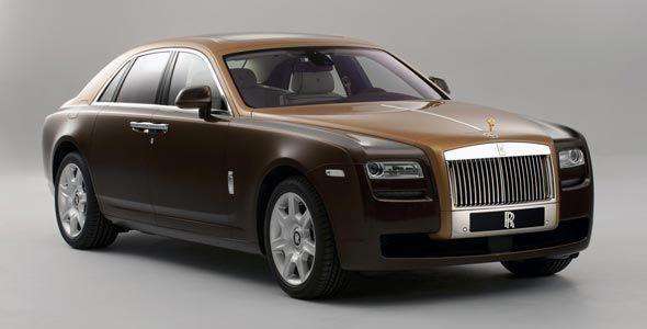 Rolls-Royce Ghost bi-tono: desvelado en Ginebra