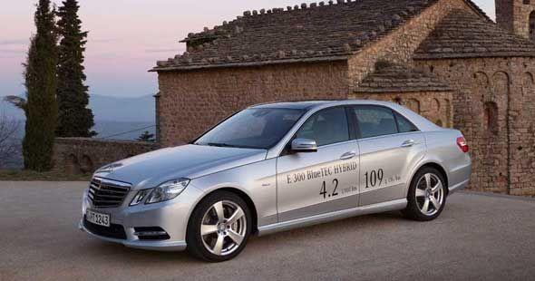El Mercedes E 300 BlueTEC Hybrid, la berlina de lujo más económica