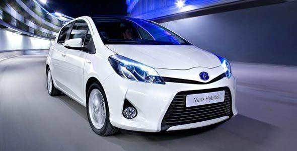 Toyota presenta el Yaris híbrido